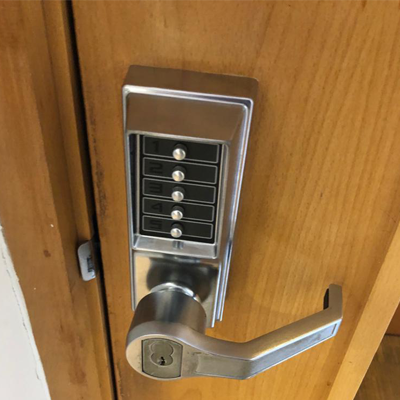 Digital Door Lock Installation